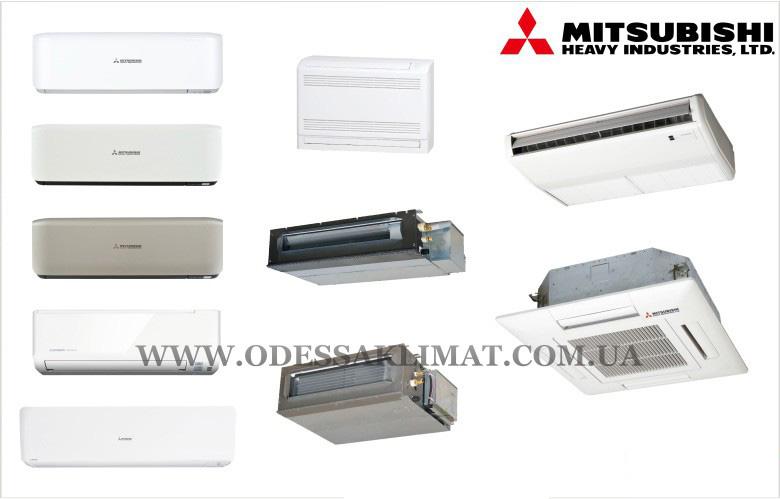 Mitsubishi Heavy мульти система подключаемые блоки