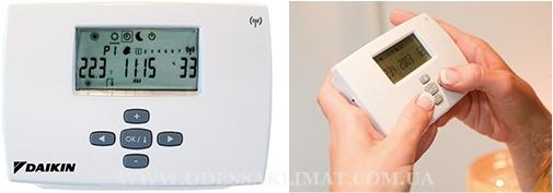 Комнатный термостат Daikin EKRTWA, EKRTR1