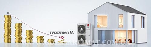 LG тепловой насос воздух вода