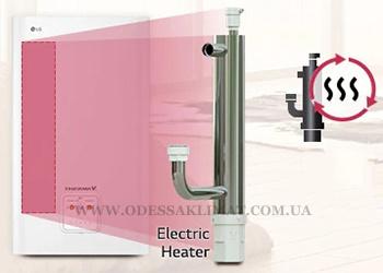 LG тепловой насос электрический нагреватель (ТЭН)