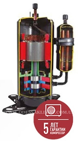 Тепловой насос Panasonic компрессор
