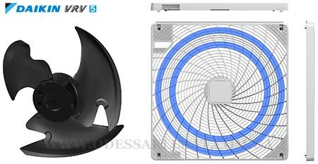 Daikin VRV вентилятор и его решетка
