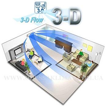 3 - D flow