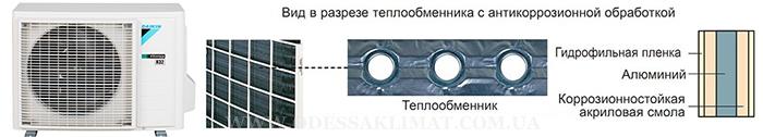 Daikin наружный блок с защитой от коррозии