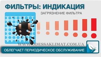 Индикация загрязнения фильтров