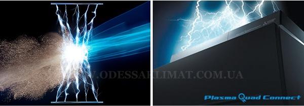 Mitsubishi Electric Plasma quad connect
