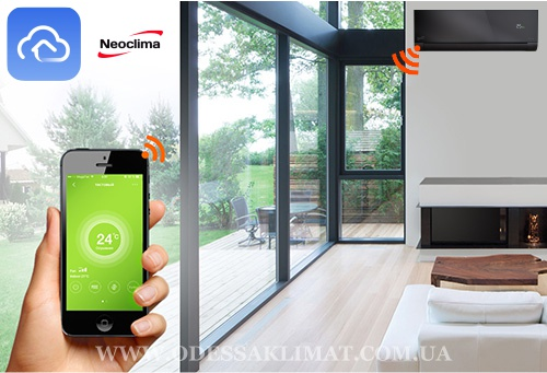 Neoclima app wi-fi android apple ios
