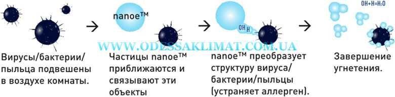 Nanoe Эффективность