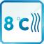 Sinclair режим 8 градусов