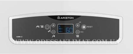 Ariston Cares X панель управления