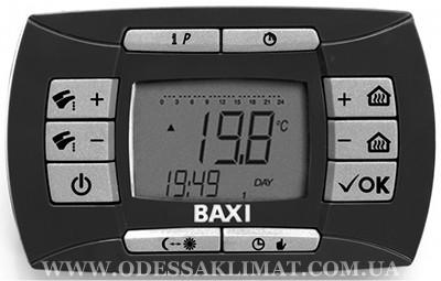 Baxi Nuvola 3 Comfort 320 Fi панель управления