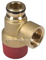 Baxi LUNA Duo-tec E предохранительный клапан.