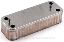 BAXI LUNA Platinum вторичный теплообменник