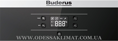 Buderus Logamax U072-35K Панель