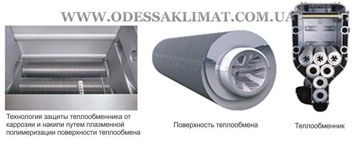 Buderus Logamax plus GB162 V2 85 Теплообменник