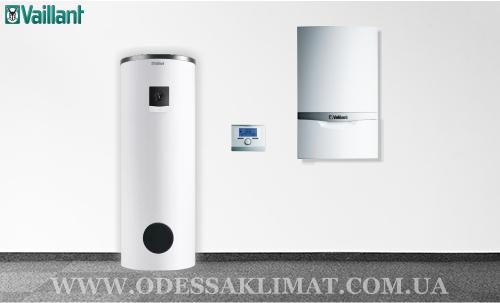 Vaillant система с баком косвенного нагрева