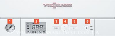 Viessmann панель управления