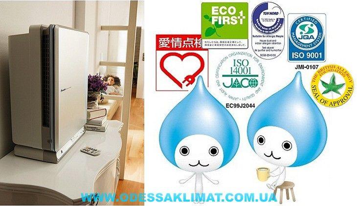 Купить очиститель воздуха Daikin